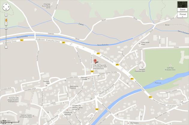 Google-zemljevid-KG